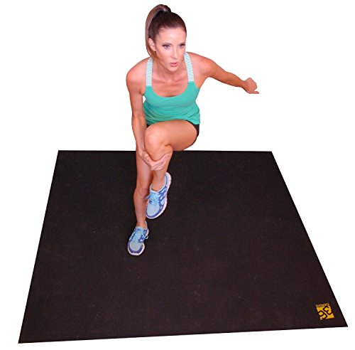 Large Exercise Mat. 72″ Wide X 60″ Long (6'x5′) Durable